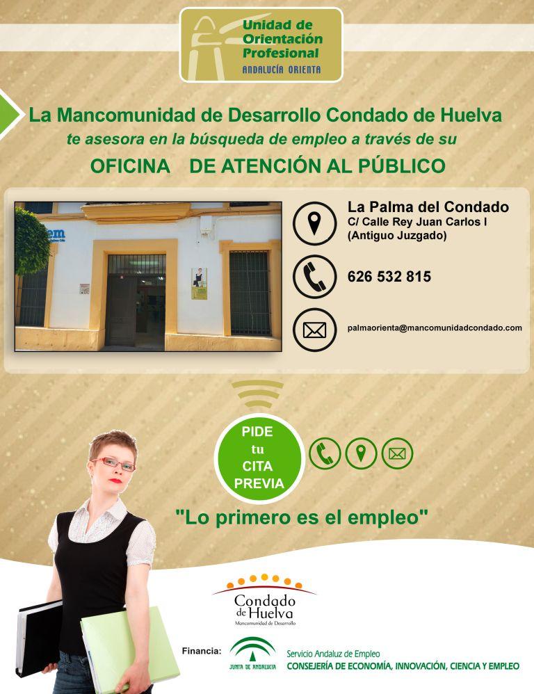La mancomunidad de desarrollo condado de huelva reabre el for Oficina de empleo andalucia